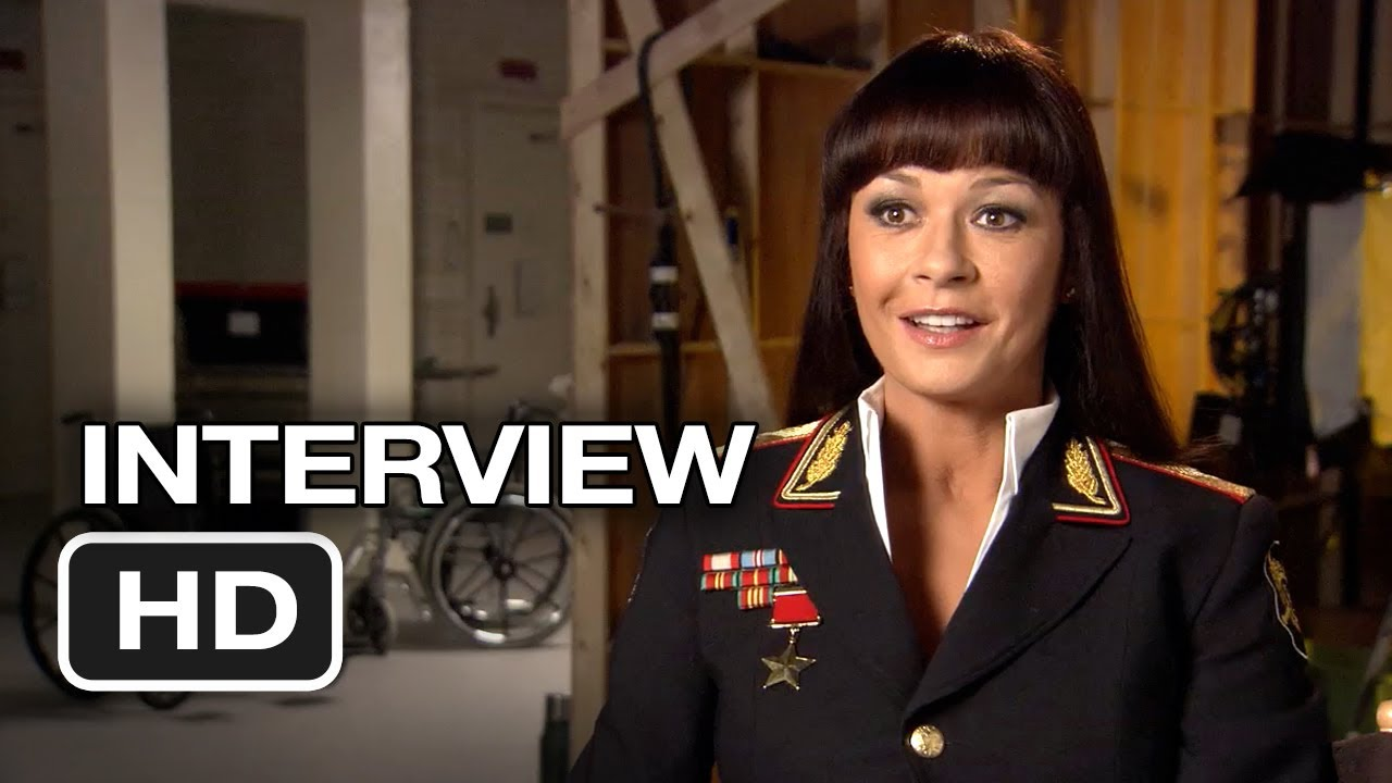 Red 2 Interview - Catherine Zeta-Jones (2013) - Bruce ...