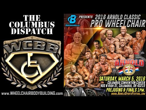 2016 Arnold Classic Pro Wheelchair - The Columbus Dispatch