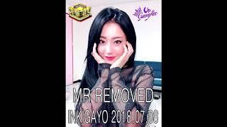 GyeongRee (경리) - Blue Moon (어젯밤 ) MR REMOVED (Inkigayo 2018.07.08)