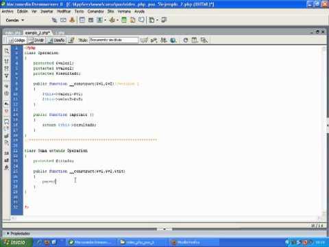 VideoTutorial 5 del Curso de PHP POO