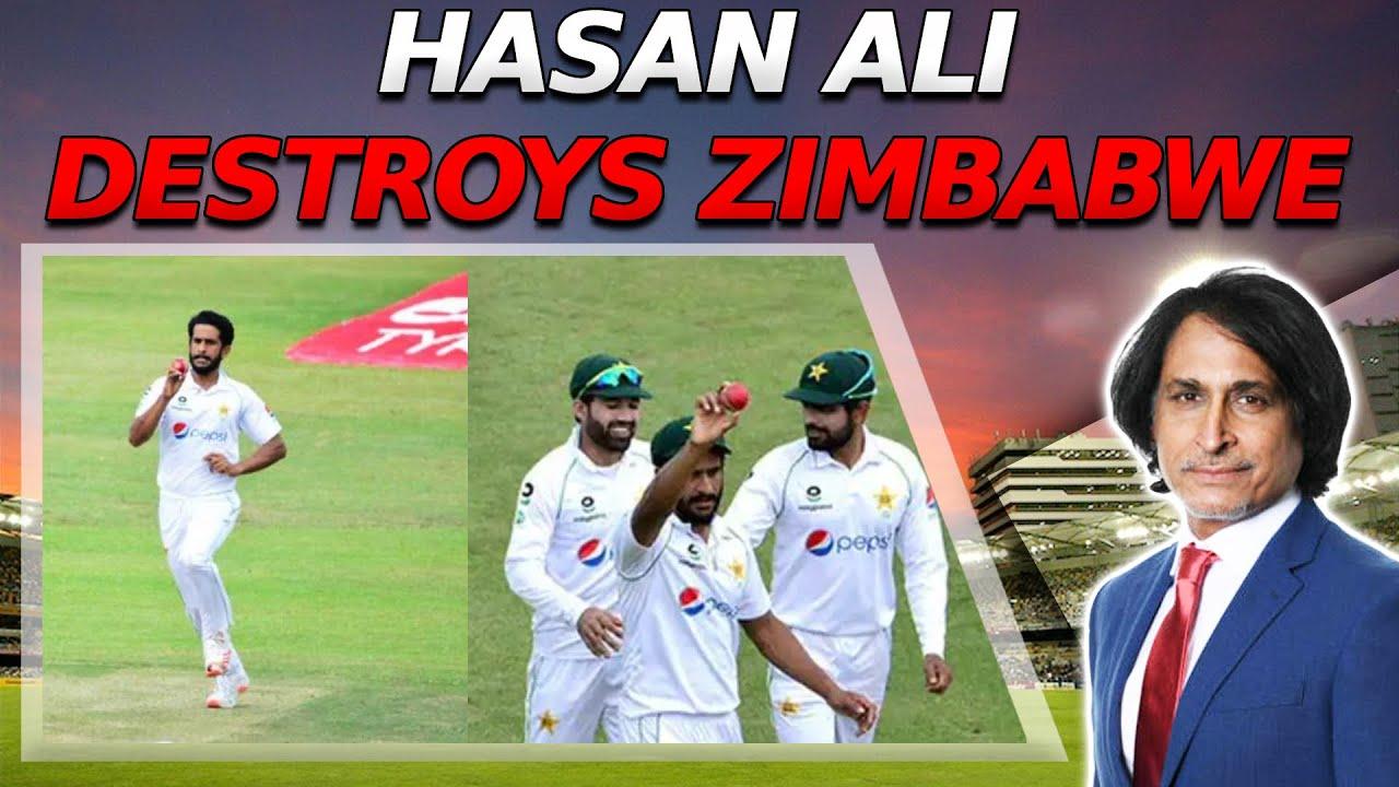 Hasan Ali destroys Zimbabwe | Impressive win for Pak