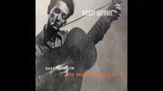 Railroad Blues - Woody Guthrie