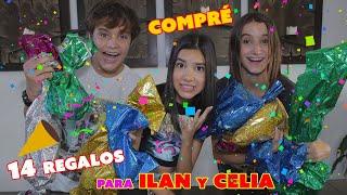 Compré 14 REGALOS para el CUMPLEAÑOS 14 de CELIA e ILAN ¡SON GEMELOS! | TV Ana Emilia