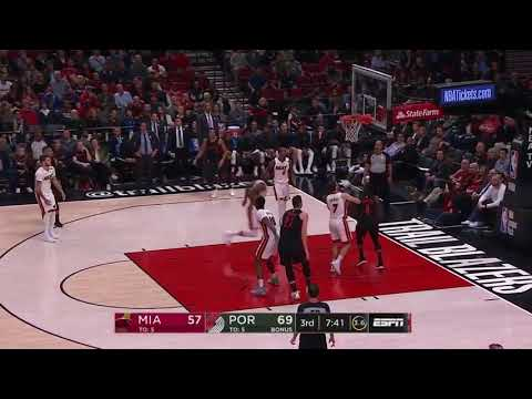 Miami Heat vs Portland Trail Blazers   Full Game Highlights  March 12 2018