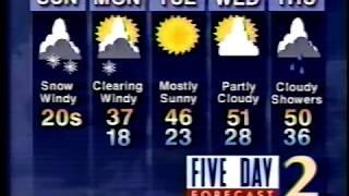 WSB-TV 2 Atlanta Snow Watch 1-7-1996