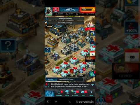 Mobile Strike - New Com, new troops/traps/titans 2/2/18
