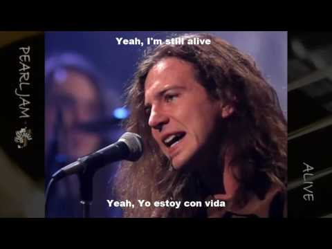 Pearl Jam Unplugged HD. Traducido / Subtitulado al Español - Lyrics in English