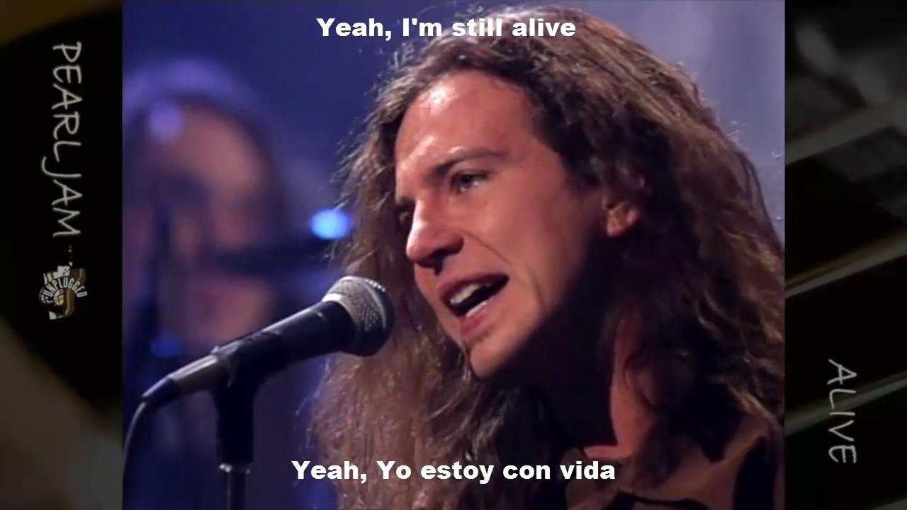 Pearl Jam Unplugged HD. Traducido / Subtitulado al Español - Lyrics in English.  [ Album Ten 1/2 ]