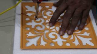 Thermocol Carving Easy and Quick