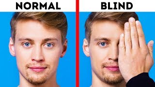 Here's How BLIND People See the World