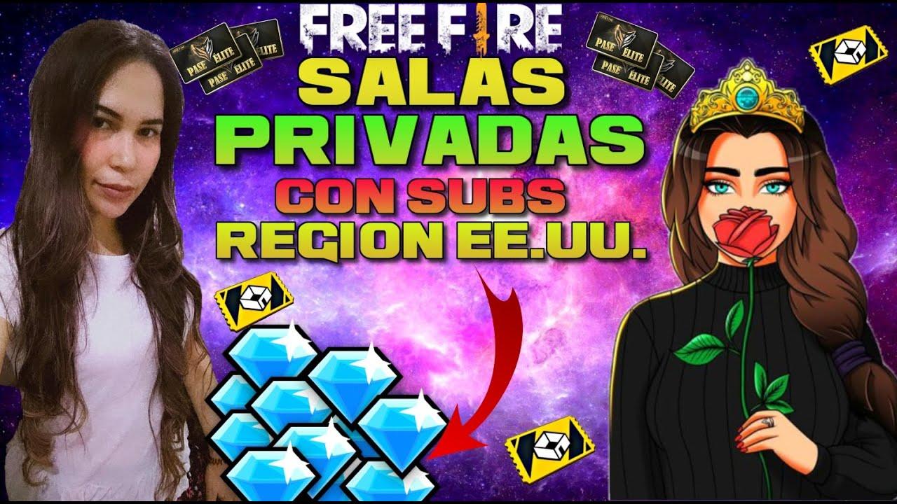 💎✨DIRECTO DE FREE FIRE💖salas privadas 💖jugando con subs🤩diamantes gratis/ region E.U.✨💎- Sheykiu❣️