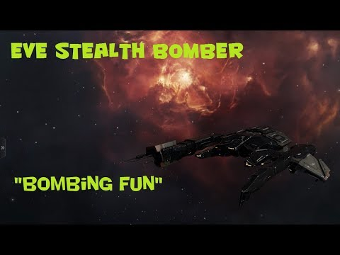 """Eve Stealth Bomber: """"Bombing Fun"""""""