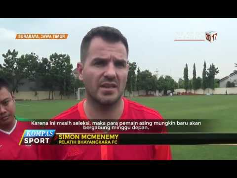 Simon McMenemy Pimpin Langsung Bhayangkara FC