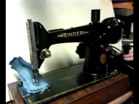 Vintage 40 Singer 40k Sewing Machine EE40 YouTube Enchanting Value Of Singer Sewing Machine With Serial Number