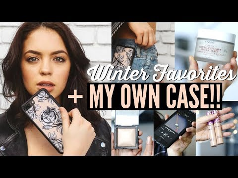 best service d3cdb 6a2a3 I MADE A PHONE CASE! Winter Favorites: Beauty, Music & Lifestyle ...