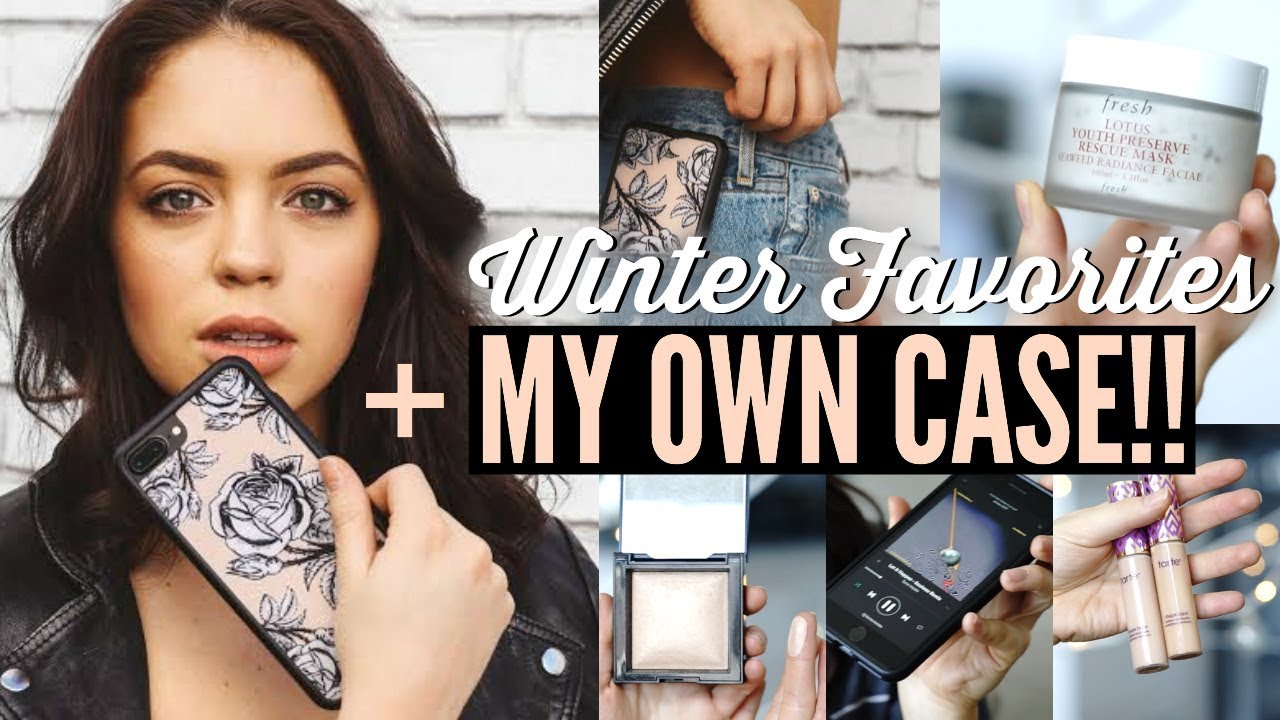 the latest 1beca d91f1 I MADE A PHONE CASE! Winter Favorites: Beauty, Music & Lifestyle! 2017