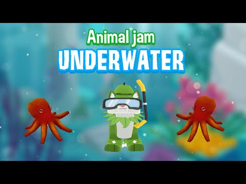 If There Where UNDERWATER Lands In Animal Jam!