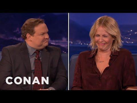Andy Richter Zings Chelsea Handler  CONAN on TBS