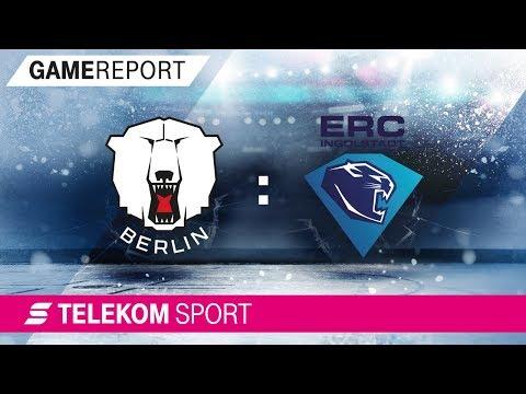 Eisbären Berlin - ERC Ingolstadt | 21. Spieltag, 17/18 | Telekom Sport