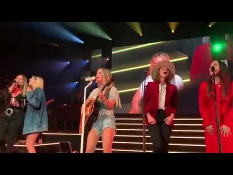 Maren Morris, Miranda Lambert, Brandi Carlile, Natalie Hemby, and Cassadee Pope Sing My Church at t Mp3