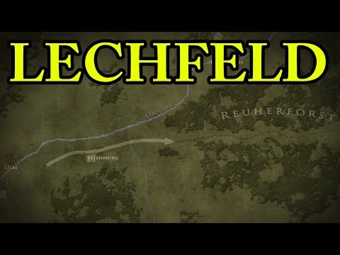 The Battle of Lechfeld 955 AD