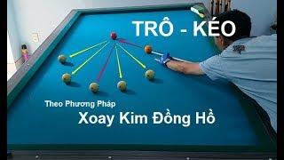 Học Bida Online | Luyện Retro Theo Phương Pháp Đồng Hồ (bida8.vn)