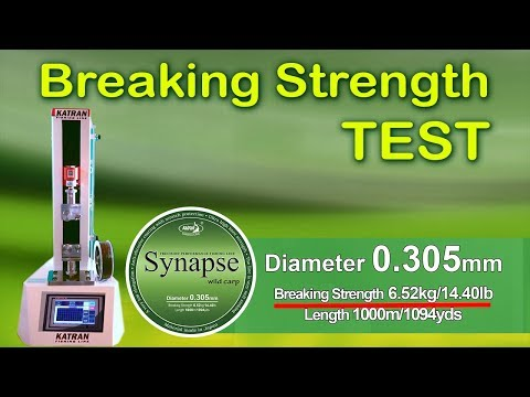 Katran Fishing Line Synapse Wild Carp 20,5 lb Diameter 0.365 800m Low Memory