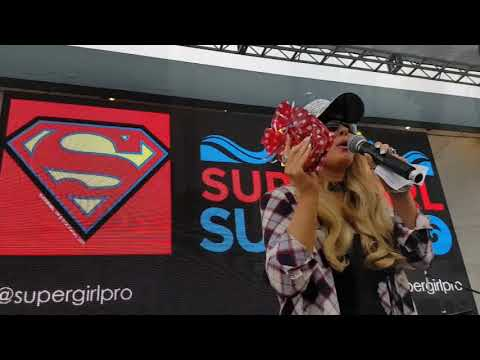 Darcy Donavan Event Recap 2  Supergirl Surf Pro 2017 Music Stage