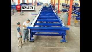 Básculas Revuelta - Armado de Báscula Electromecánica para Camión