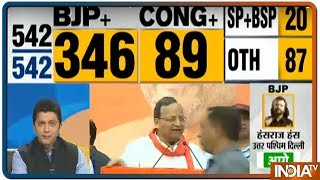 Lok Sabha Election Results 2019 | Inside BJP Headquarters