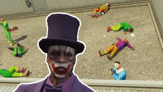 CLOWN TAZER FIGHT CLUB (GTA 5 Online Funny Moments)