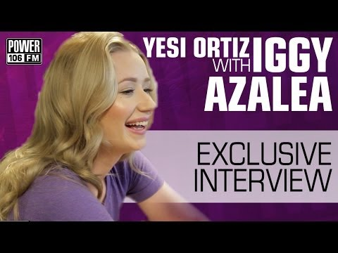 Iggy Azalea Talks About Who's On Her Upcoming Album & Working With Katy Perry w/ Yesi Ortiz