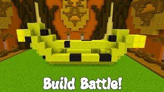 EL ÚNICO FRUTO DEL AMOR... Minecraft BUILD BATTLE!