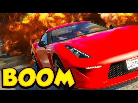 SUICIDE CAR BOMB - GTA V ONLINE