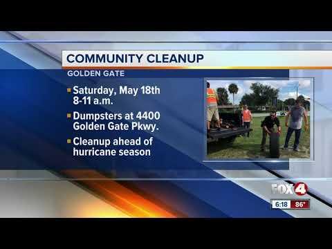 Free junk dumpster Golden Gate Community
