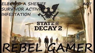 State of Decay 2 - Elected a Sheriff / Survivor Activity / Infestation (#07) - XBOX ONE (HD)
