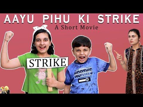 aayu-pihu-ki-strike- -moral-story-for-kids- -bhookh-hadtaal- -aayu-and-pihu-show