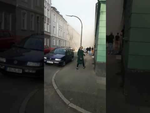 Explosion in Dortmund Hörde.