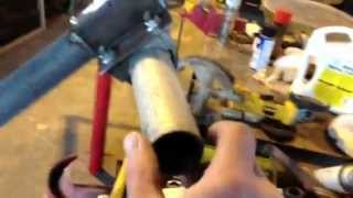 Video #1 How To Build  Adjustable Solar Panel Post Frame And Mount Bracket Dyi.