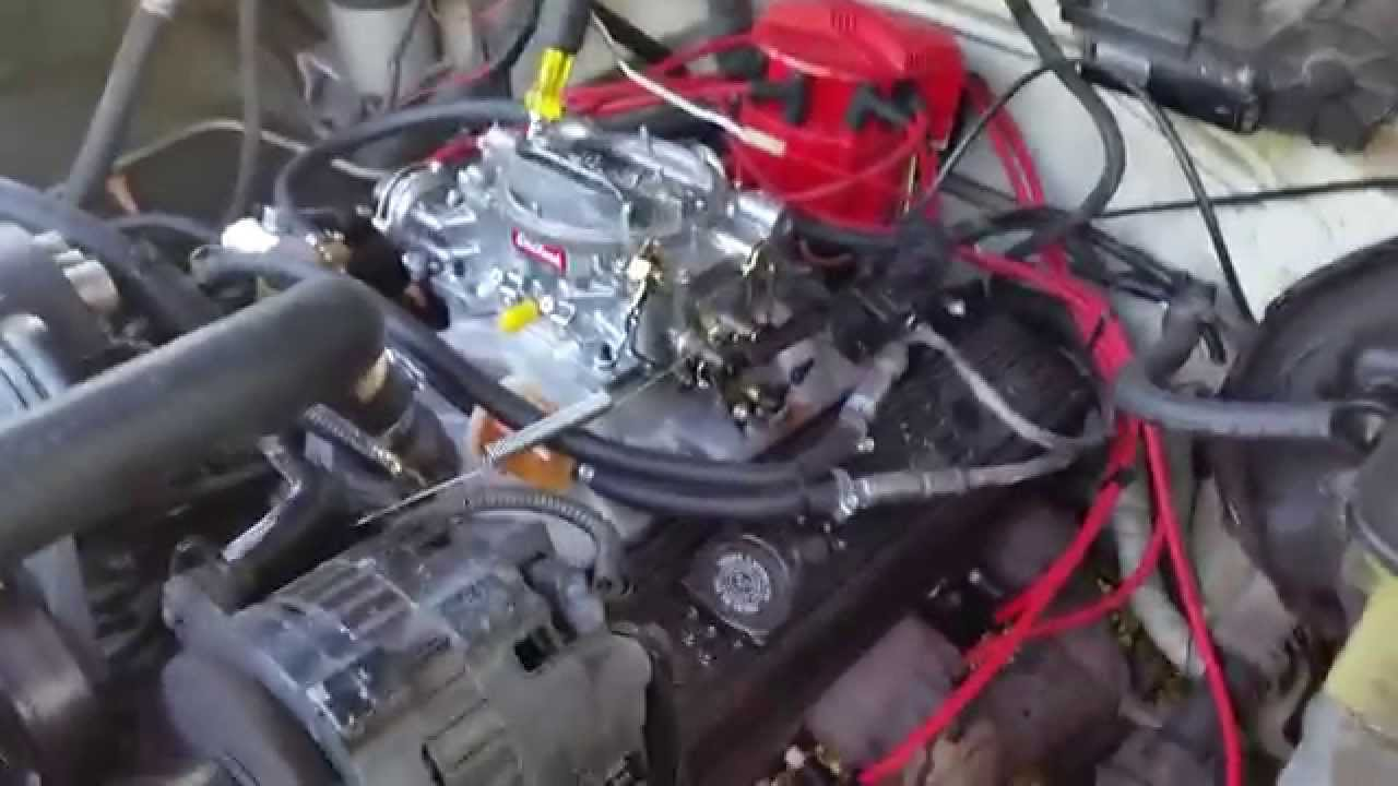 small resolution of chevy truck tbi to carb conversion