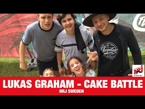 [INTERVIEW] Lukas Graham -CAKE BATTLE - NRJ SWEDEN