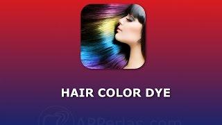 Hair color Dye, la app para darle color a tu pelo