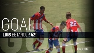MNT vs. Puerto Rico: Luis Betancur Goal - May 22, 2016
