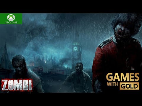 ZOMBI Xbox One X Gameplay Games With Gold 4K 2160p 60 fps