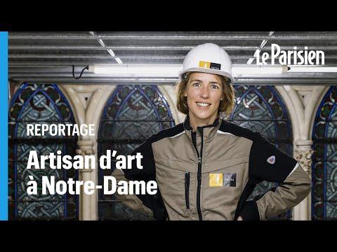Notre-Dame de Paris : Amélie, restauratrice, fait de nouveau resplendir les pierres des chapelles