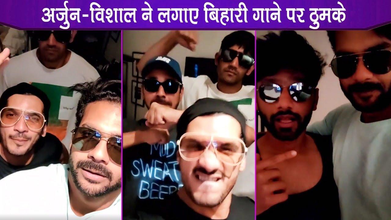 Khatron Ke Khiladi 11: Vishal Singh, Varun Sood, Abhinav, Arjun, Rahul Dances On Bihari Songs