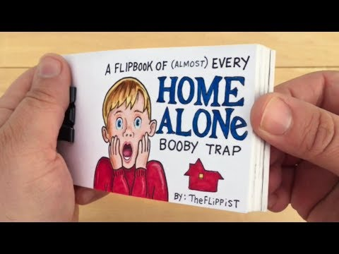 Home Alone Flipbook: Every Booby Trap Compilation (surprise ending)