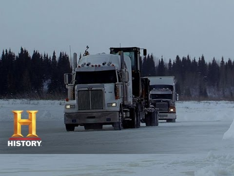 Ice Road Truckers: Lisa's Icy Fall (S8, E12) | History
