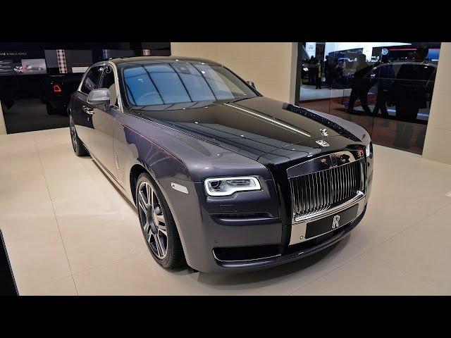 Rolls Royce Ghost 2017 Elegance Geneva Review