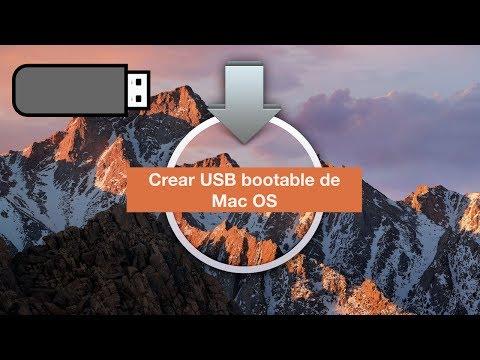 Como Crear USB Booteable De Mac OS High Sierra Facil Y Rapido (En Español) 2017